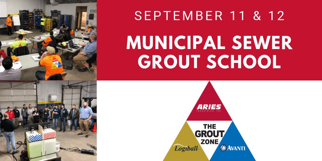 September 2019 Municipal Sewer Grout School