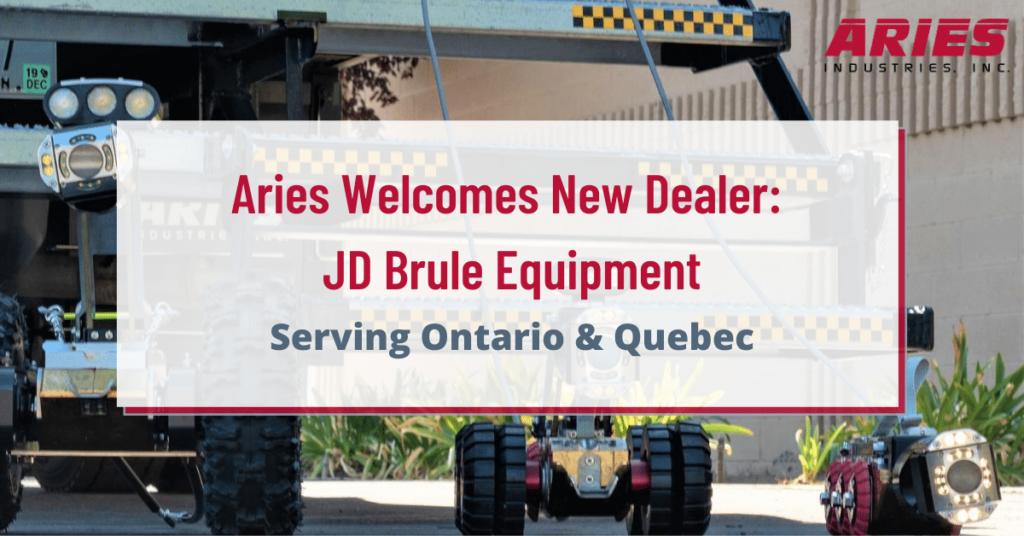 Aries Industries Welcomes JD Brule Equipment to Dealer Network