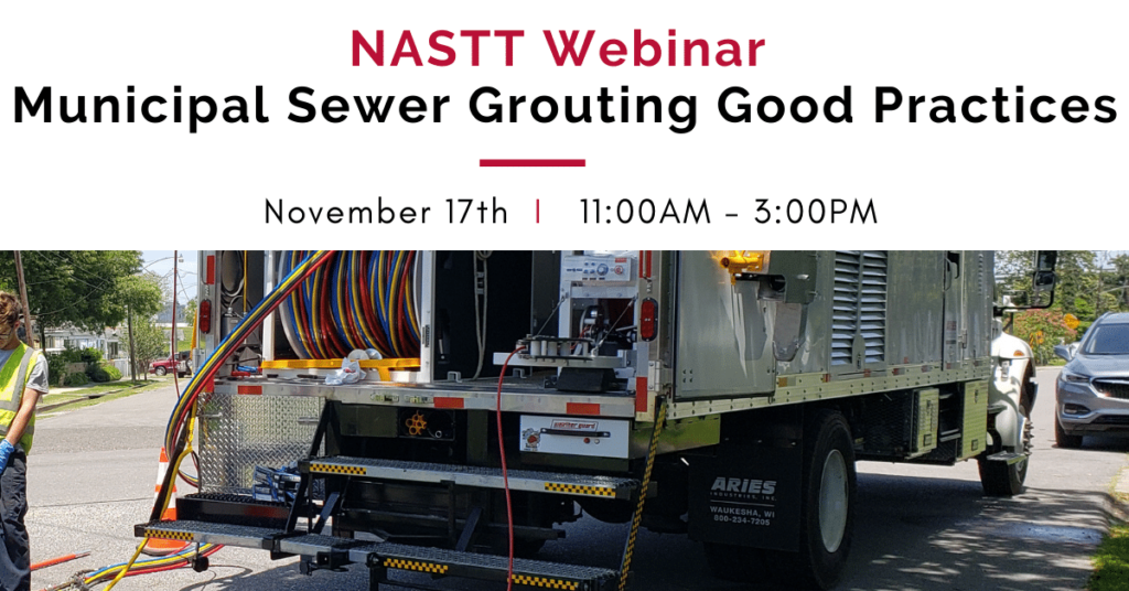 municipal sewer grouting good practices