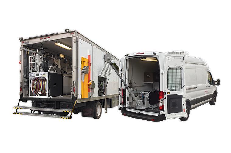 pipeline inspection vehicles trucks