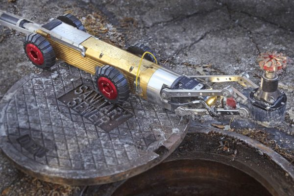 wolverine sewer crawler camera