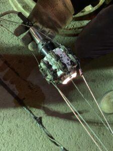 Lateral Camera on Custom Skid